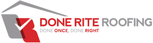 DONE RITE ROOFING Logo